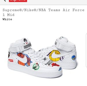 Supreme Nike NBA Air Force 1